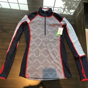 Kari Traa NEW with tags zip pullover M ladies